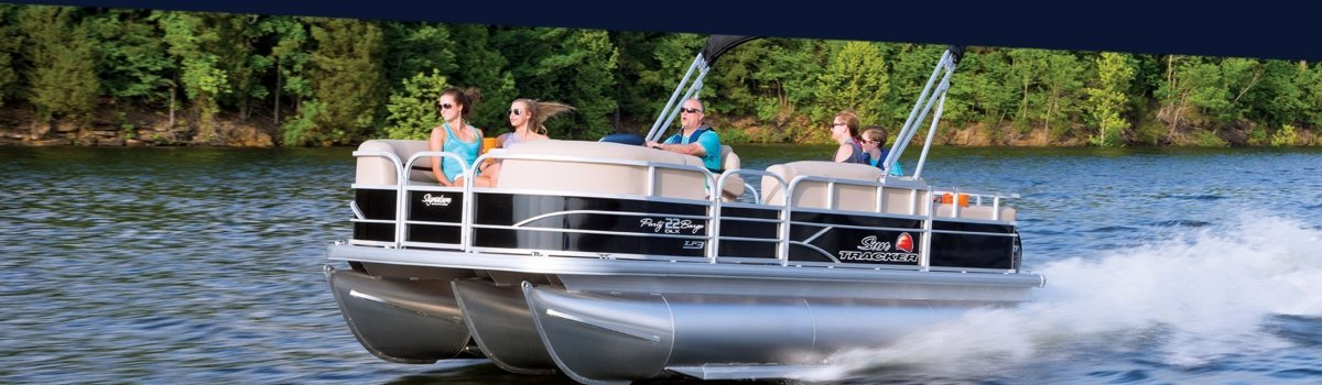 BoaterInput Homepage Pontoon Boat Hero