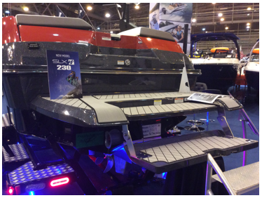 2017 Sea Ray 230 SLX-W